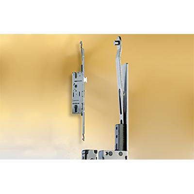 Euro Style Lock Hinged Door Hardware Residential Door